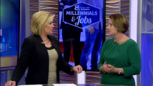 Michele Norris Talks To News Channel 8 About Millennials in the Workforce [Video]